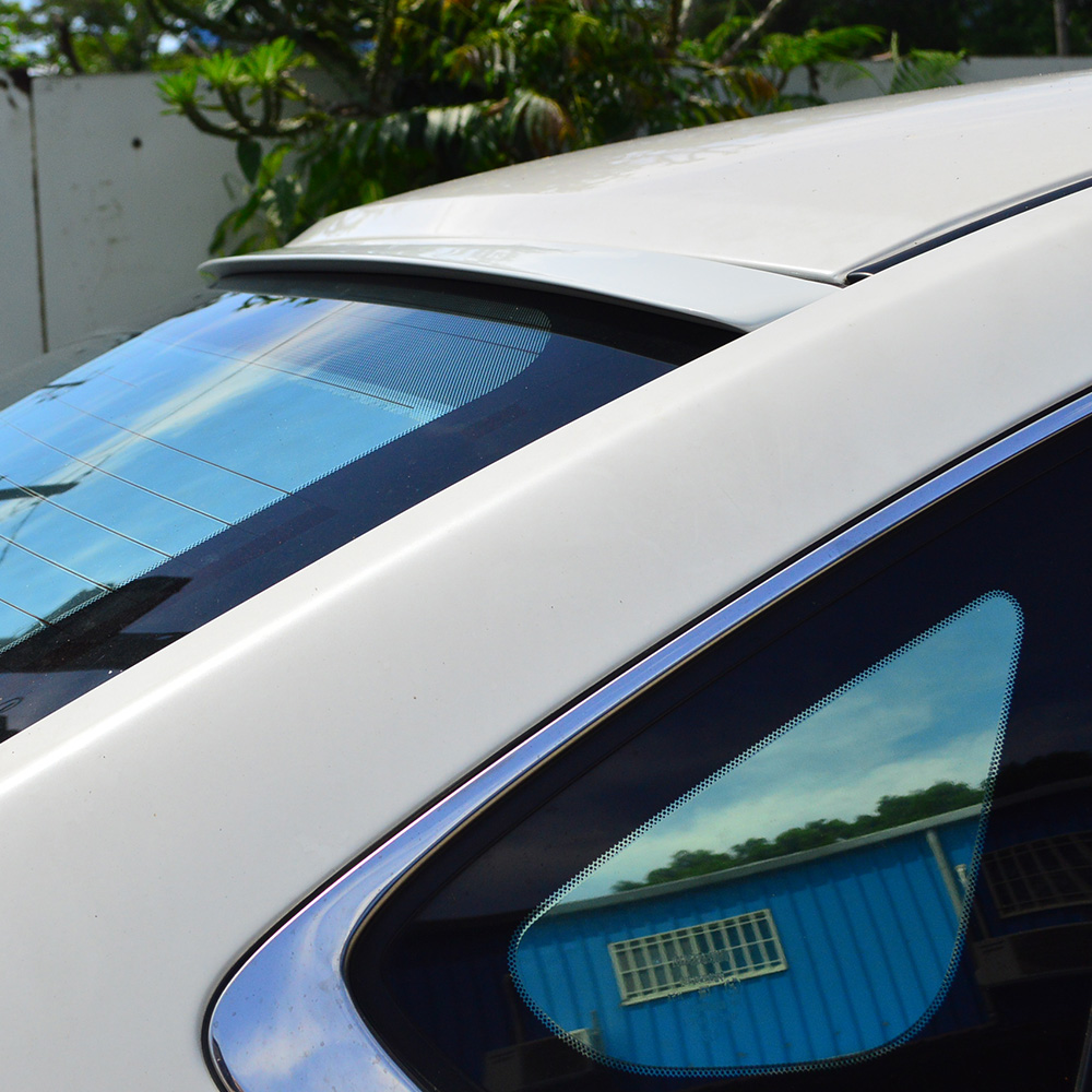 Cadillac Stsv: ALL Painted Cadillac STS-V 2006-2009 4D Sedan Rear Roof Window Spoiler Wing VIP